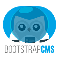 Bootstrap CMS icon